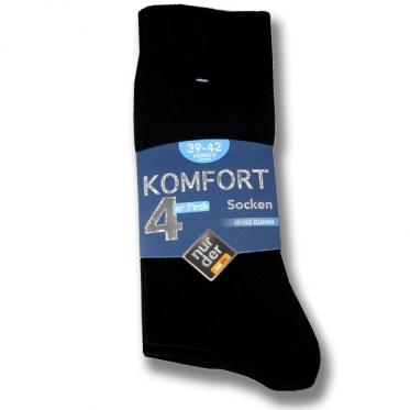 Мужские носки без резинки серии Комфорт по 4 шт. в упаковке.