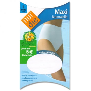 Женские хлопчатобумажные трусы Maxi.