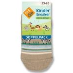 Укороченные детские носки по 2 шт. в упаковке.
