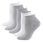 Укороченные носки по 5 пар в упаковке.