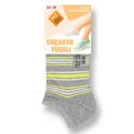 Короткие хлопчатобумажные носки.