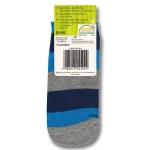 Детские укороченные носки с нескользящей подошвой.