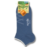 Укороченные носки с эффектом 3 в 1.
