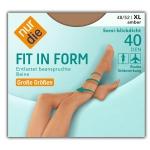 Компрессионные колготки 40 ден серии Fit in Form.
